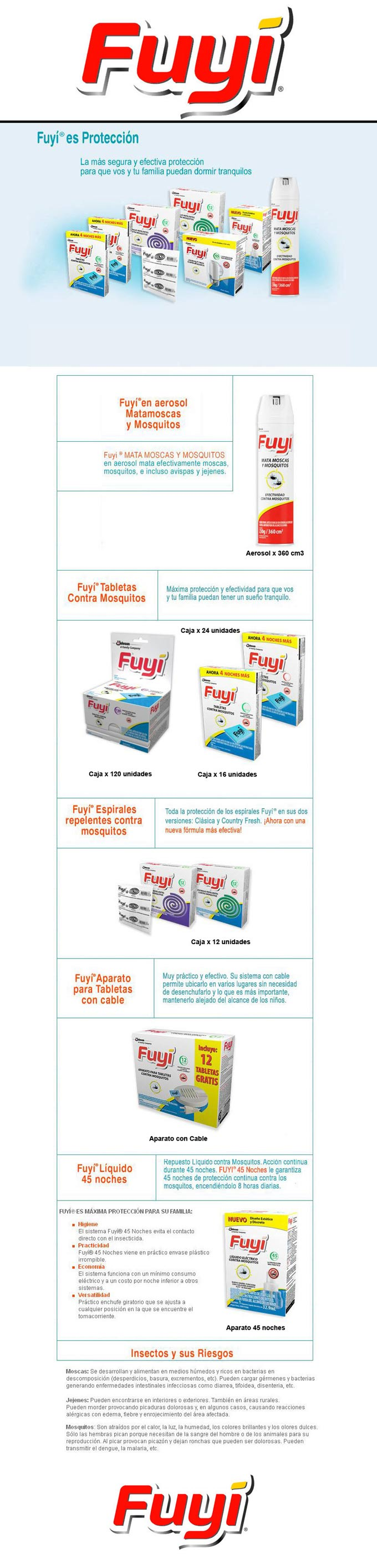 Productos FUYI